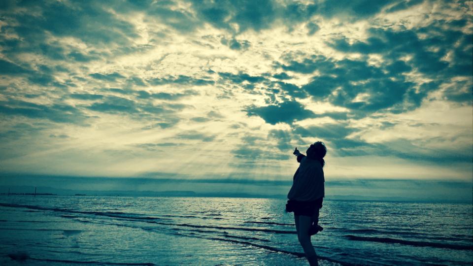 Meer, Horizont, Himmel