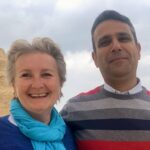 Cristina Teot und Akram Farouk